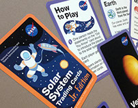 Solar System Trading Cards, Jr. Edition