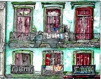 Cuba series. Illustrations.