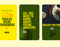 Nuva Branding - Visual identity / Food Industry