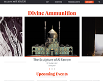 Bellevue Arts Museum Website Redesign