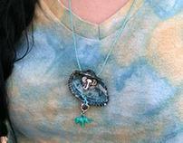 Elephant Seashell Necklace
