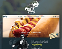 Hot Globe: One-page website