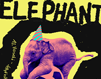 Elephant - Digital Posters (2017)