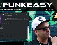 DJ FUNKEASY website