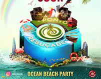 Ocean Beach Party - Creative Artwork