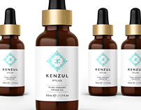 Kenzul Atlas - Logo design and packaging