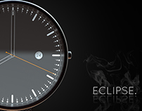 Eclipse - Minimalist Watch Concept