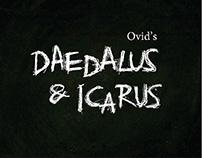 Daedalus & Icarus   Book Design