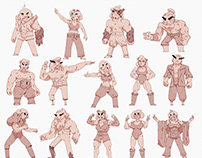 Characters for Warp Games