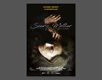"""Poster for feature film """"Scary Mother"""". Allfilm 2017"""