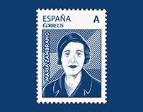 Maria Zambrano Stamp
