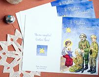 Christmas card for Ukrainian Army