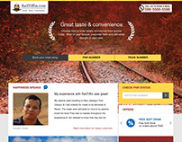 RailTiffin.com website