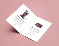 Teatulia Menu Illustrations