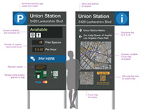 Park Here L.A. — Parking Kiosks for Urban Wayfinding