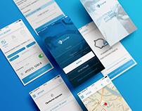 iCourier app design