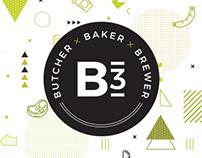 B3   Butcher × Baker × Brewer
