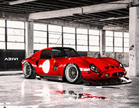 250 GTO Widebody   CGI