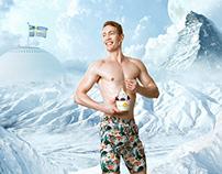 Honeycomb Frozen Yoghurt