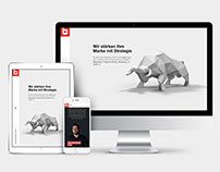 "Website ""Berchtold Marketing GmbH"""