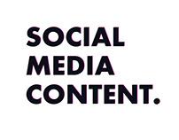 Nightclub Social Media Content