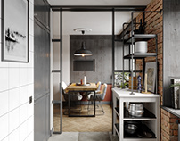 Kitchen Living Room_2