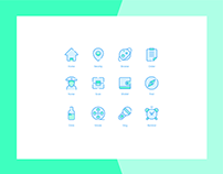 12 commonly used small icons