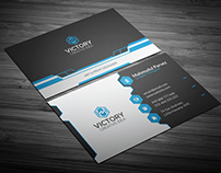 Lemelen Corporate Business Card