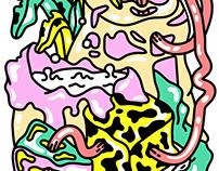 Blank Poster x kon — Decay