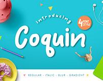 Coquin 4 Font