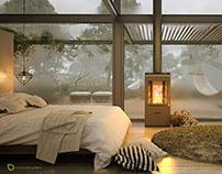 The Bedroom. Winter
