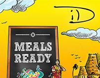 Creative Campaign for ID - South Indian Restaurant