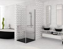 Baño tile