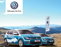 Volkswagen Nomads - App and website concept