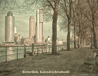 Vintage postcards of Rotterdam