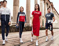 Advertising Campaign FILA 2018