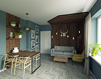 Apartment in St.Petersbourg