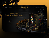 Joker Club website