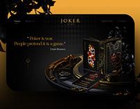 Joker Club website