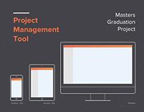 Project Management Tool - Graduation Project UX Design