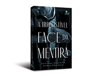 """Cover design of """"A irresistível face da mentira"""""""