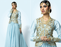 Tales of Palatial Heirloom - Look book for Shilpa Reddy