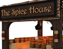 Spice Area in Alamri hyper market _ Oman