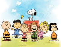 Snoopy and the ol good Charlie Brown