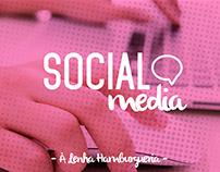 Social Media   À Lenha Hamburgueria