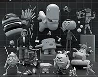 SMC: 3D Characters - VOL:01