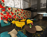 Executive Lounge @ Hotel (Proposal)