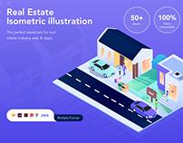 Real Estate Isometric Kit Vol.1