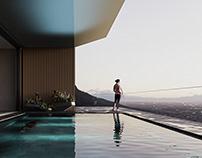 SAUNA & CHANSON | CGI LIFESTYLE IMAGERY