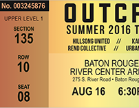 Typography: Ticket Stub